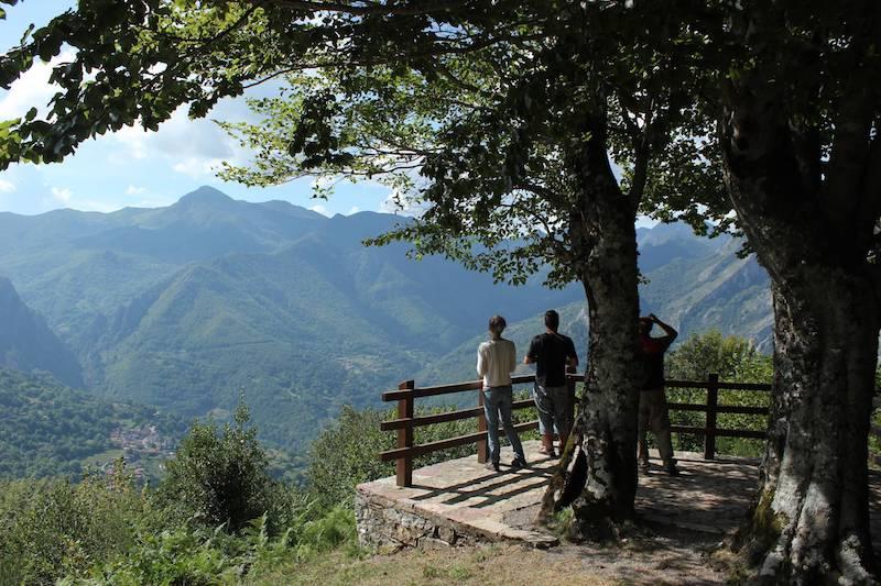 Valle de Sajambre (Mirador de los Porros) en Picos de Europa